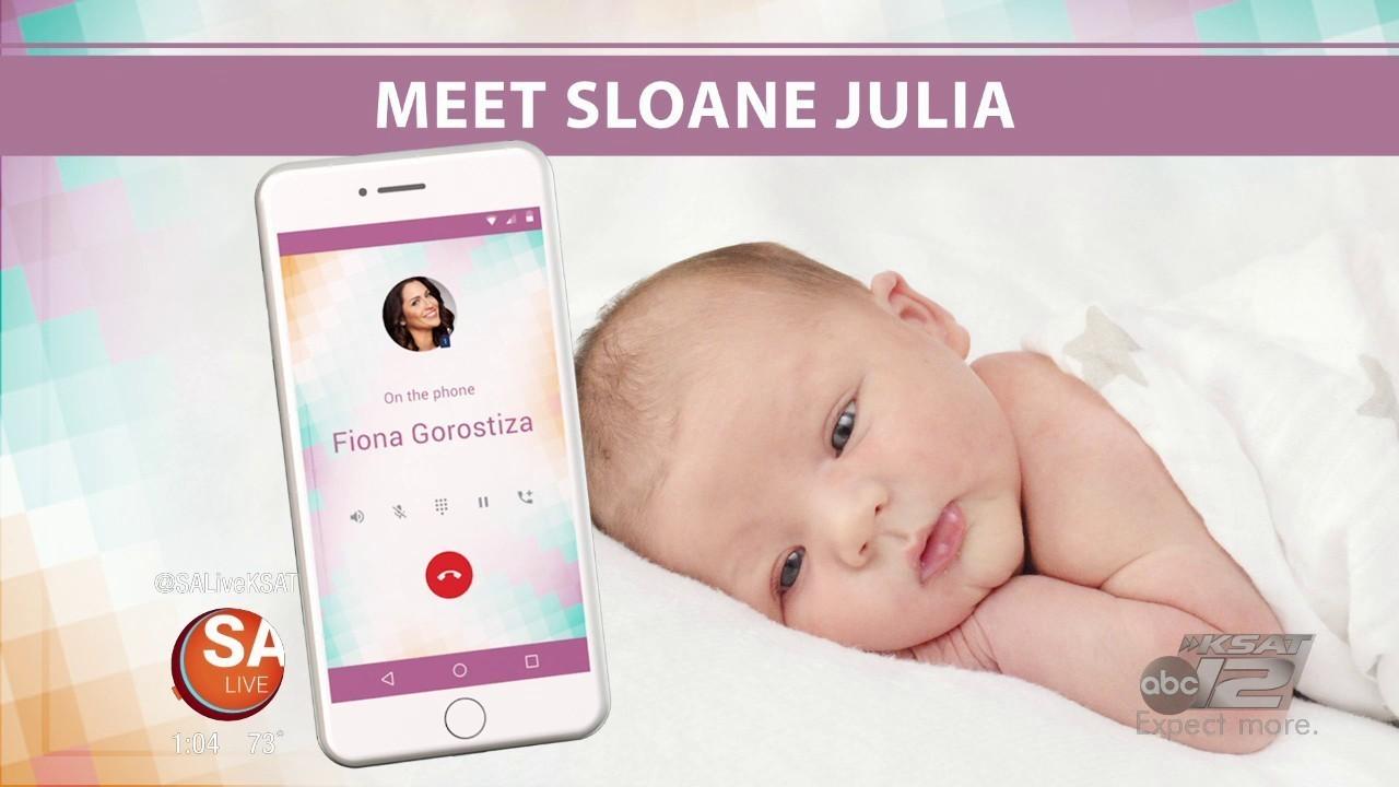 Fiona's Baby Reveal | SA LIVE | KSAT 12