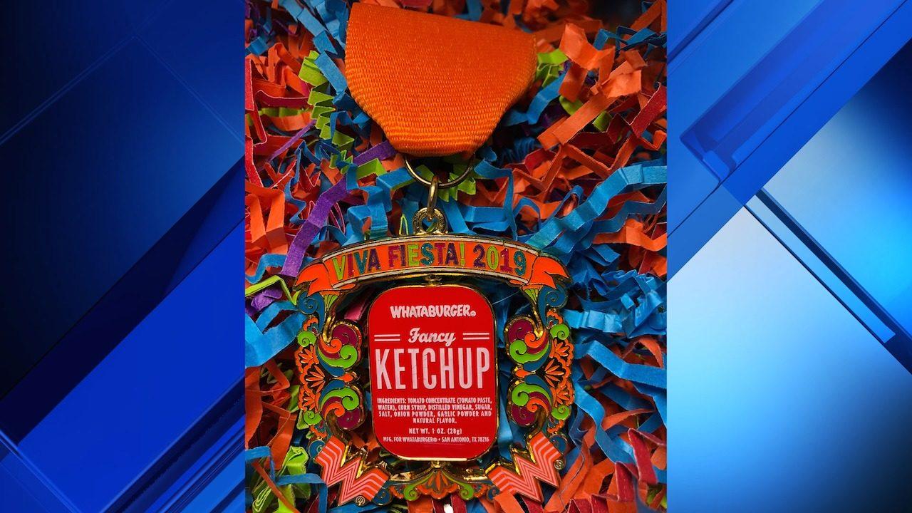 Whataburger unveils 2019 Fiesta medal