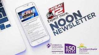 Top Stories: KSAT 12 News at Noon