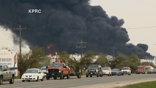 LIVE: Crews work to control fire at Texas petrochemicals plant