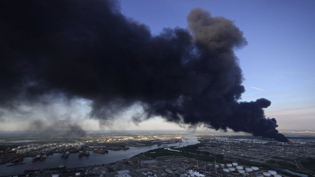 Fire at Houston-area storage facility finally out after several days, ITC says