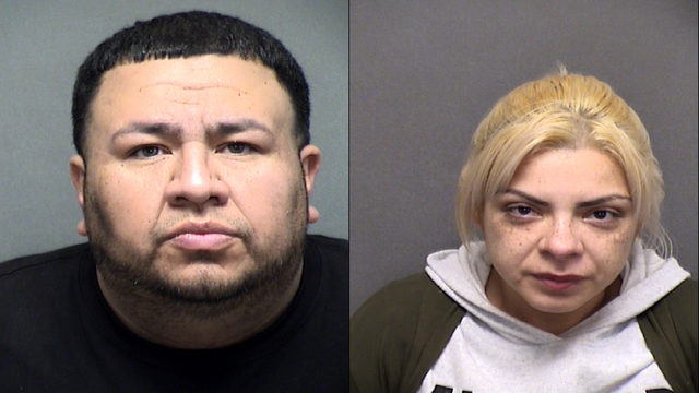 SA couple arrested in connection with car burglaries on city's far West Side