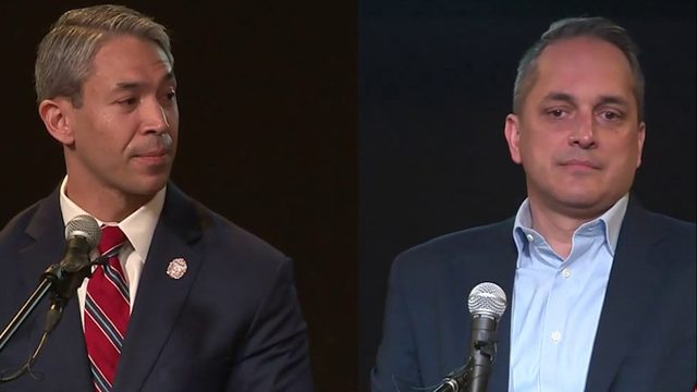 Nirenberg, Brockhouse face off in heated first mayoral debate