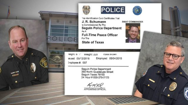 Records: Seguin PD created fake police credential for radio executive