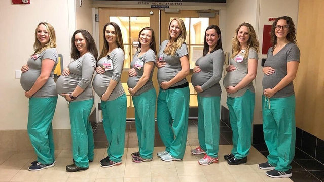 Baby boom: 9 labor unit nurses pregnant at same hospital