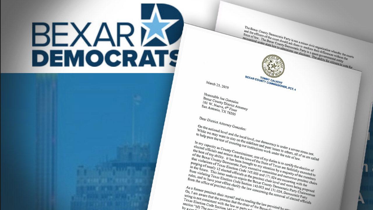 County commissioner calls on DA to investigate Bexar County