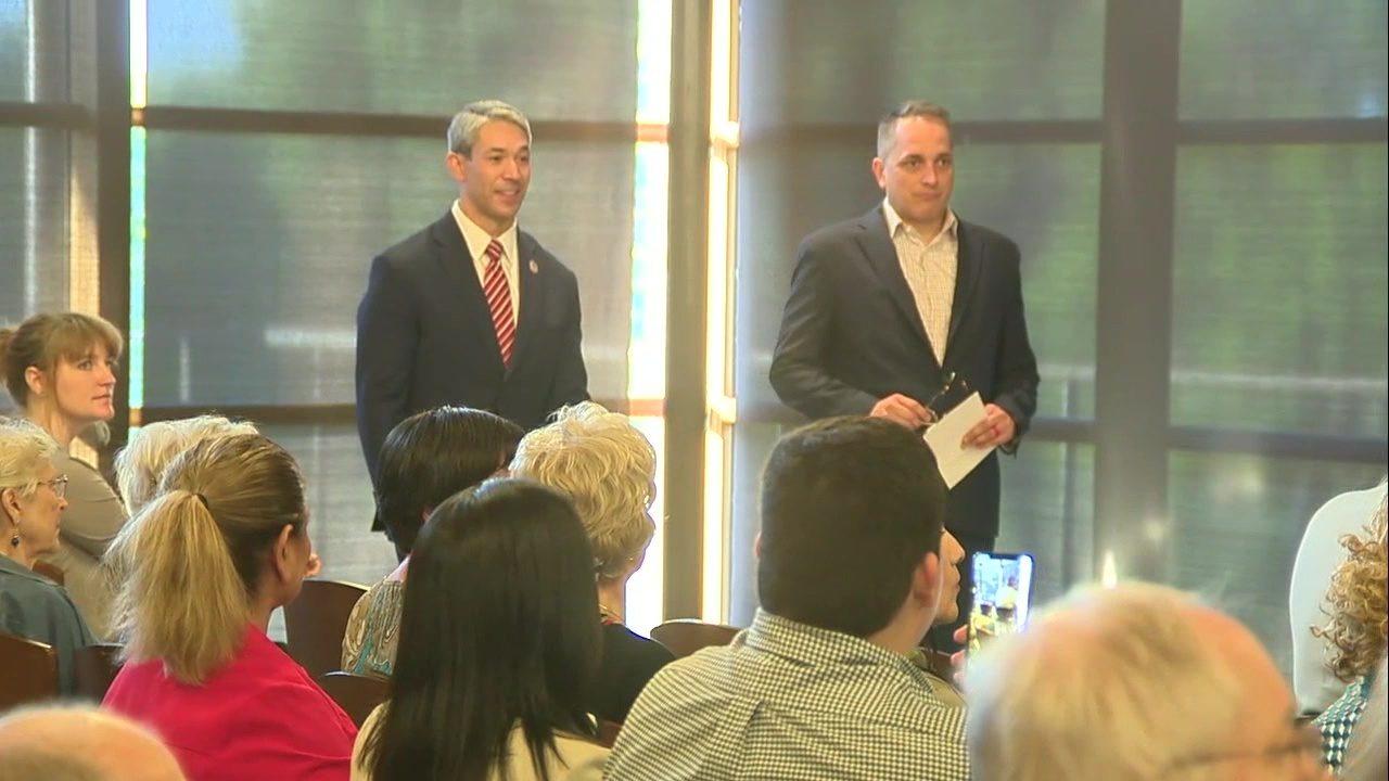 Watch Nirenberg Brockhouse Face Off In Third Mayoral Debate