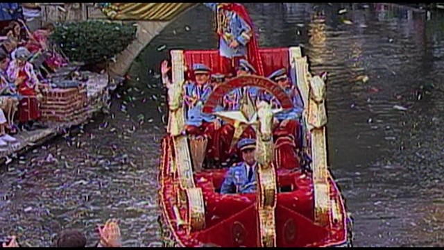 Festive music, floats to fill downtown for tonight's Texas Cavaliers&hellip&#x3b;
