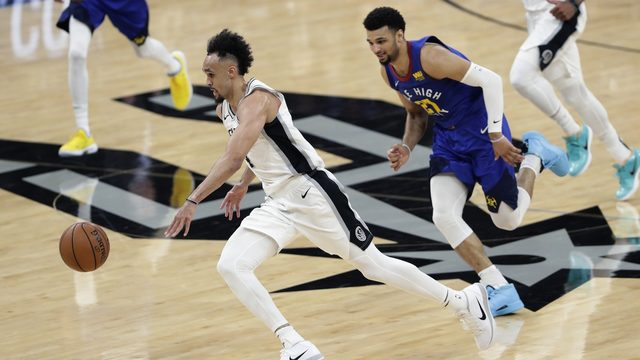 Derrick White explodes for 36 points as Spurs take 2-1 series lead on Denver