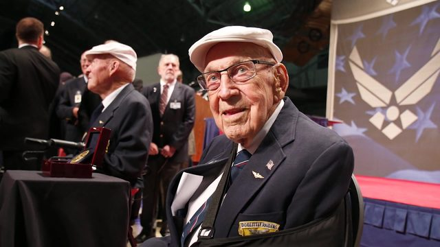 Air Force bids farewell to last surviving Doolittle Raider