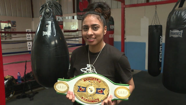 "Selina ""Aztec Queen"" Barrios returns to the ring"