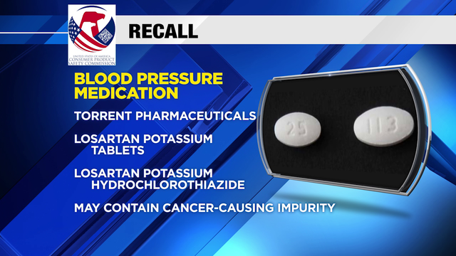 Blood pressure meds recall expanded due to potential cancer-causing ingredient