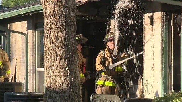 Nearly a dozen without a home after fire at apartment complex