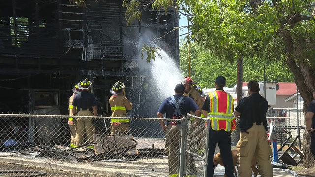 SAFD: Easter barbecue sparks garage fire