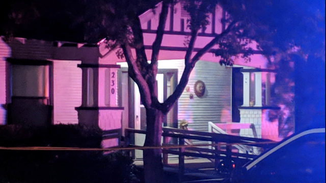 Man fighting for life after being shot while sitting in living room, police say