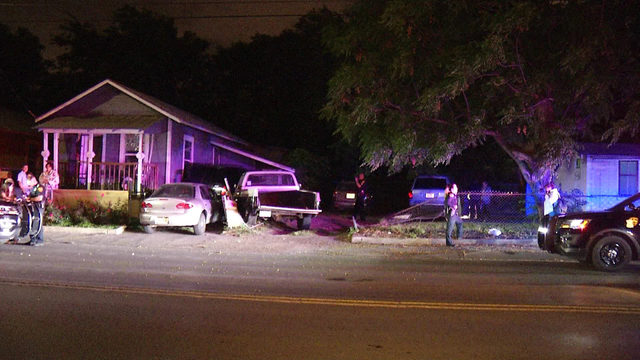 Driver being assessed for DWI after crashing truck into home, police say