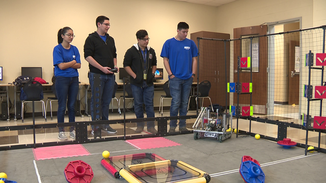 ​​Local high school sophomore team to compete in national robot competition