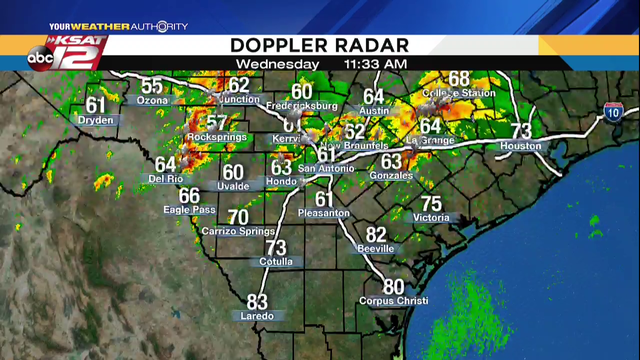 Severe thunderstorm watch issued for SA area, including Bexar County
