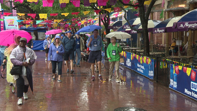Rain won't dampen Fiesta spirit