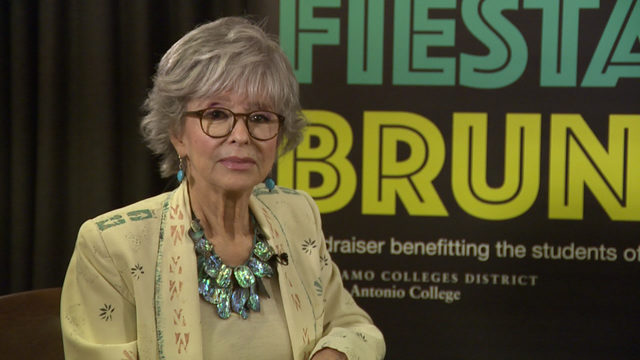 Legendary actress sits down with KSAT 12 for interview
