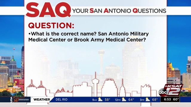 Your San Antonio Questions Answered: What should we call it: BAMC or SAMMC?