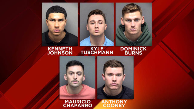 Indictment: 5 military servicemen charged in San Marcos gang rape