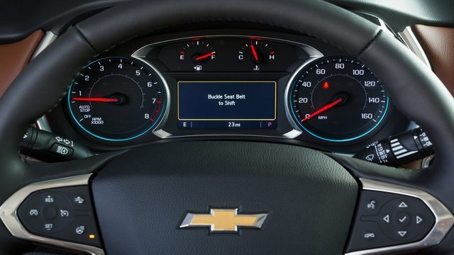 Chevrolet unveils feature that disables vehicle unless seat belt is buckled