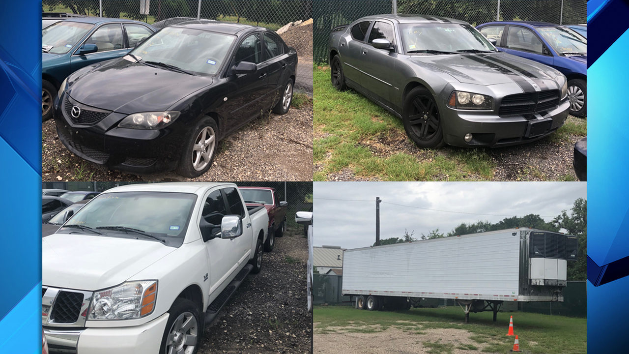 Audi, GMC, Cadillac: Impounded vehicles up for auction in