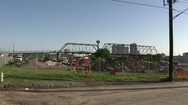 City working on land swap deal for property next to Hays Street Bridge