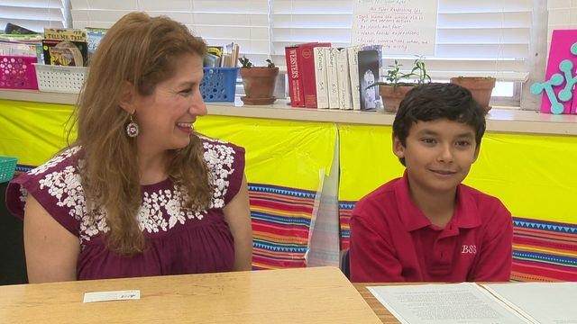 Fifth grader writes award-winning essay about immigration