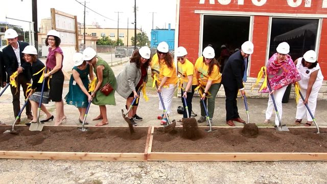 Alamo Community Group breaks ground on affordable housing project near SAMA