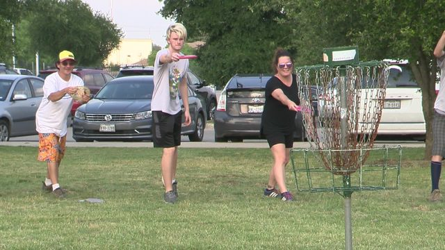 San Antonio disc golfers unite for a new, bigger course