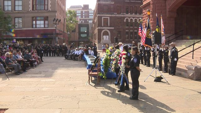 BCSO holds memorial service for fallen deputies