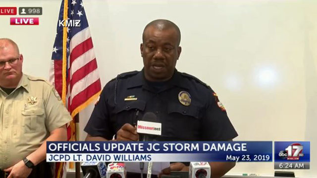 WATCH LIVE: Officials give update on Missouri tornado damage