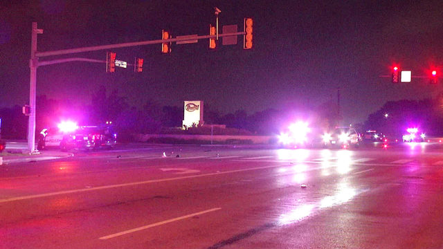 Motorcyclist hospitalized after West Side crash