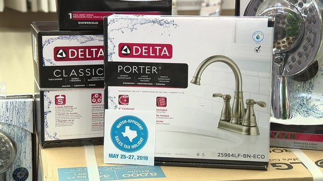 Texans get sales tax break on energy-efficient, water-saving products