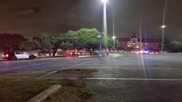 Man found dead inside crashed car near San Antonio College