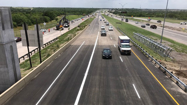 Highway 90 closed for sewer line repair to reopen Friday afternoon, SAWS says