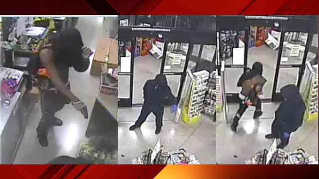 Crime Stoppers seek assailants who robbed Dollar General at gunpoint