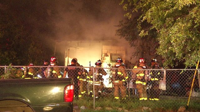 Woman, two dogs found safe after fire destroys home