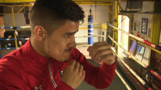SA rising boxer ready for fight across border