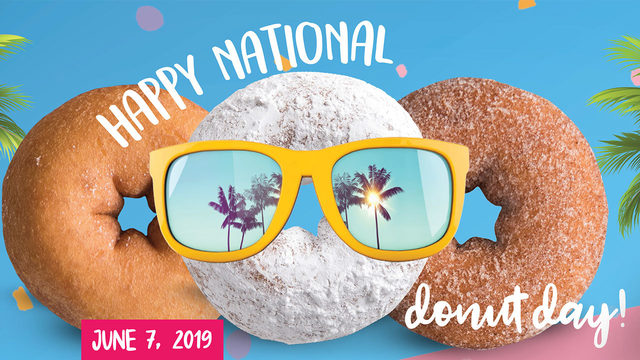 Get free donut at Duck Donuts on National Donut Day