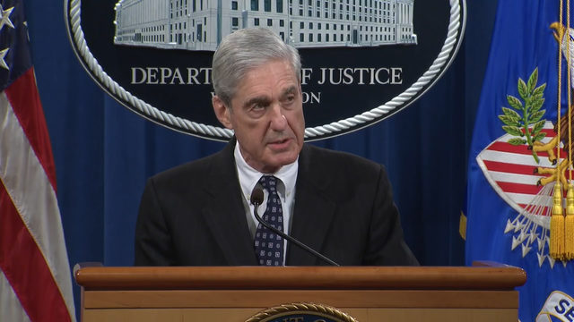 Mueller says charging president 'not an option'