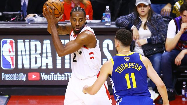 Game 2 on KSAT: Kawhi and Raptors host Golden State with 1-0 series lead