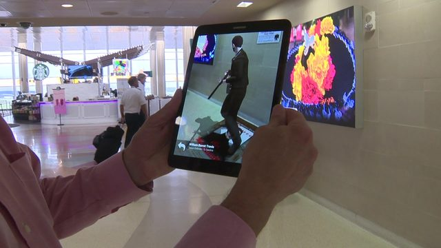 San Antonio airport unveils augmented reality exhibits