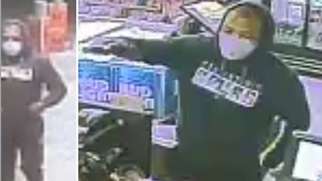 Man wielding handgun steals cash from local food mart, police say