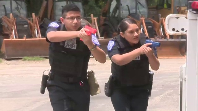 Students put to the test in annual law enforcement competition