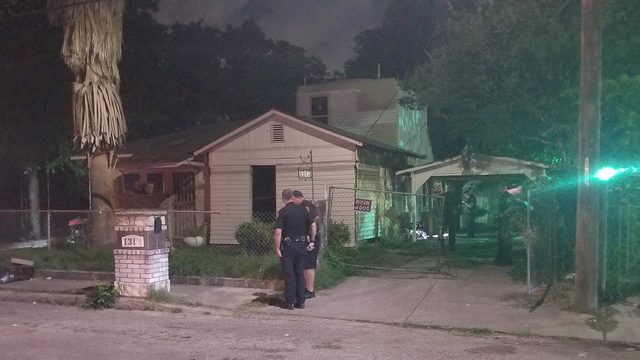 Man shot in leg outside Southside home