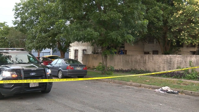 Search for shooter underway after gunfire hits East Side apartment building