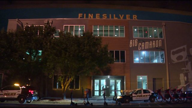 Workers wondering if shot fired into Finesilver building was random